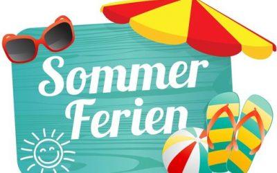 Schöne und erholsame Sommerferien
